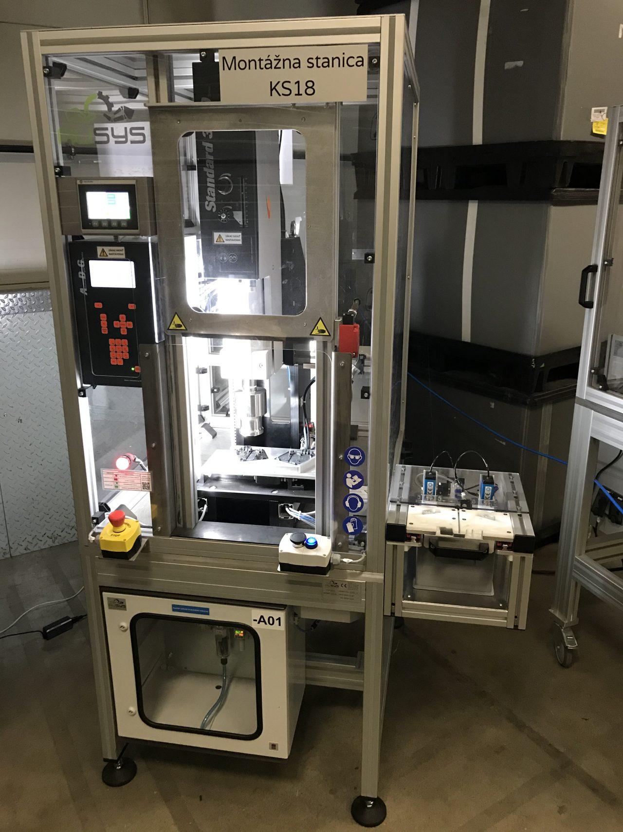 Ultrasonic welding station - Stanica s ultrazvukovou zváračkou